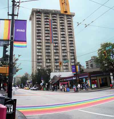 Gay Friendly Hotels in Vancouver