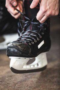 Ice Skating at Robson Square